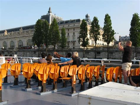 Bateau Mouche Orsay by Bateaux Mouches Sightseeing Cruise River Seine Paris France