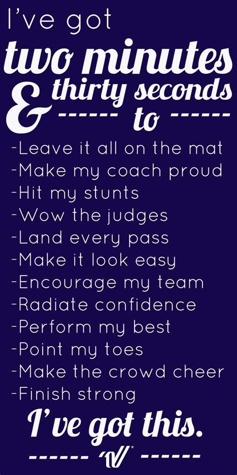 good luck quotes for cheerleading competition