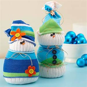 Schneemann Aus Socken Mit Reis : schneemann basteln stimmungsvolle deko f r weihnachten ~ A.2002-acura-tl-radio.info Haus und Dekorationen