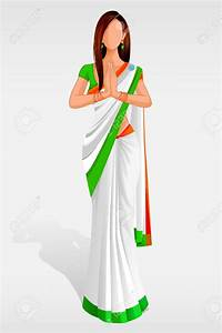 Hindu clipart welcome lady - Pencil and in color hindu ...