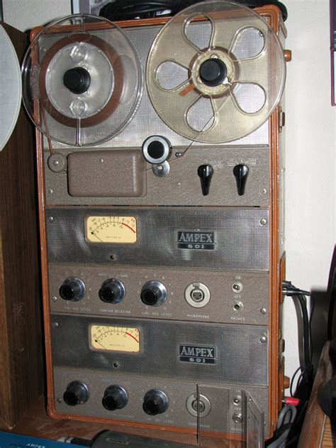 Ampex reel tape recorders • the Museum of Magnetic Sound ...