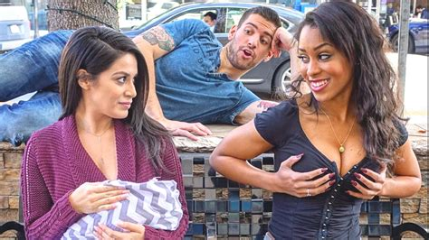 Sexy Vs Breastfeeding In Public Social Experiment Youtube