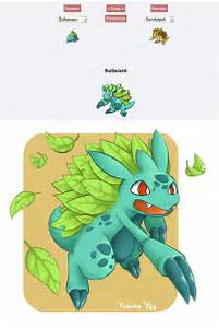 Pokemon Fusion Bulbslash