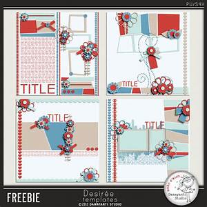 Free scrapbook layouts from Damayanti Studio | BEST FREE ...