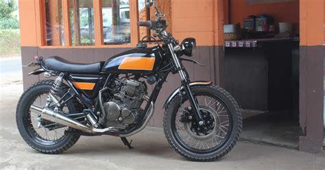 Racer Style Modifikasi by Modifikasi Style Yamaha Scorpio Style Brat
