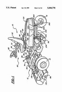 Patent Us5406778 - Electric Drive Riding Greens Mower