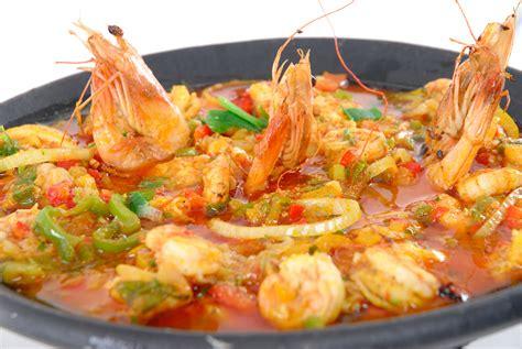 braisi鑽e cuisine shrimp stew typical food casablanca turismo