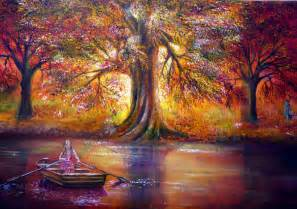 landscape nature photo set paintings englishsnow