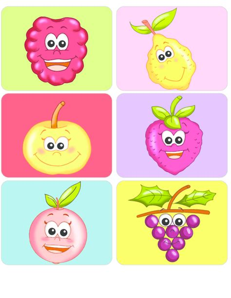 Learning Fruits Flashcards #2 Kidspressmagazinecom
