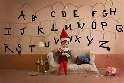 Things Stranger Elf Naughty Shelf June Mill