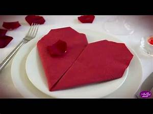 Pliage Serviette Papier Mariage : 17 best ideas about pliage serviette en papier on ~ Nature-et-papiers.com Idées de Décoration