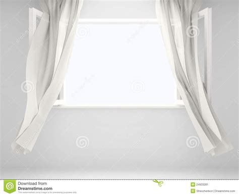 window with curtains stock image image 24933281