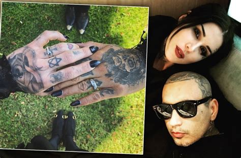 kat von  marries prayers vocalist leafar seyer
