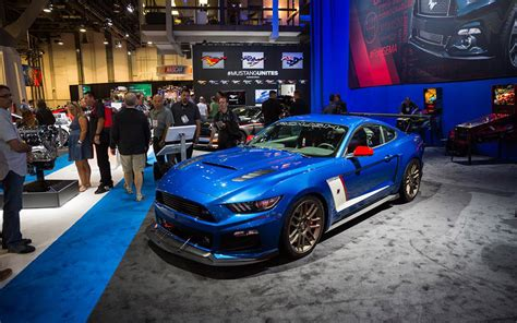 ford mustang   picked semas hottest car