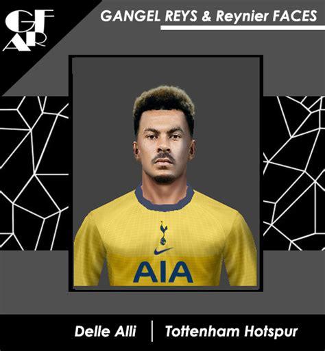 ultigamerz: PES 6 Delle Alli (Tottenham Hotspur) Face 2020-21