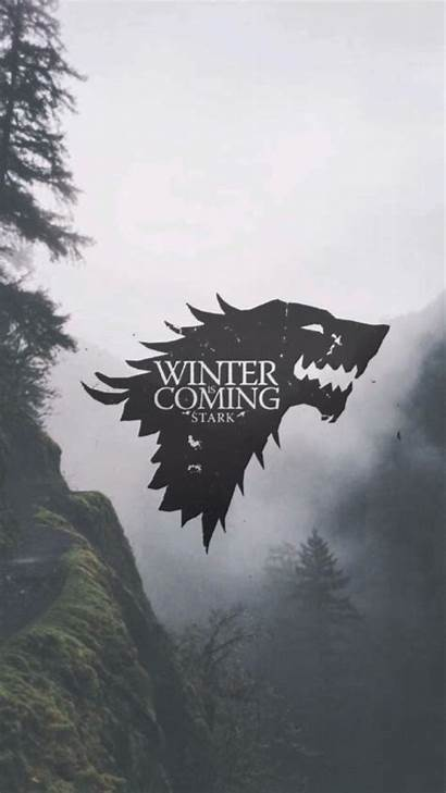 Thrones Stark Winter Wallpapers Fondo Pantalla Coming