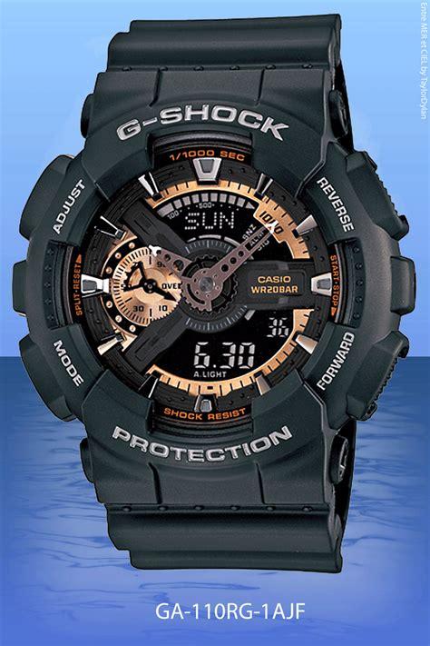 jam tangan gshock ga110 black gold g shock 2012 wrist spot