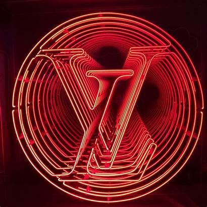 Vuitton Louis Neon Signs Kemplondon Format Kemp