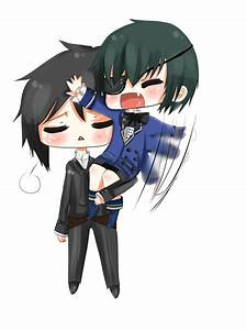 Sebastian and Ciel by Nichiya-chan on DeviantArt