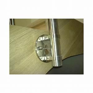 Poteau Bois Rond 3m : support poteau rond pour fixation l 39 anglaise deko steel ~ Voncanada.com Idées de Décoration