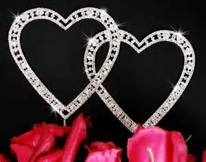 cinderella wedding cake topper vintage swarovski heart wedding cake