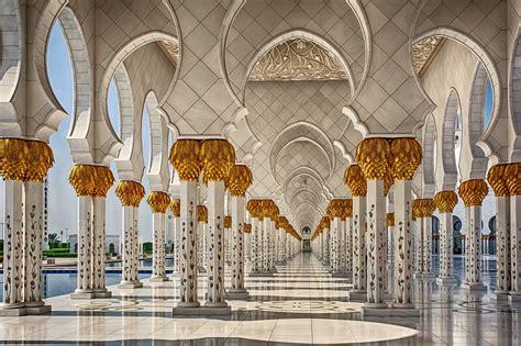 architecture interiors abu dhabi mosques united arab