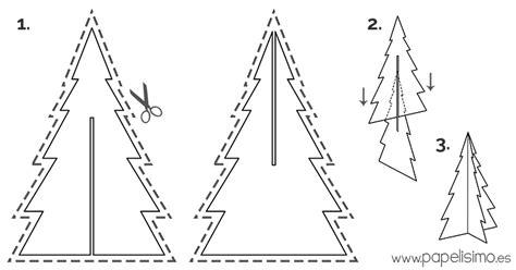 plantilla árbol de navidad para imprimir c 243 mo hacer 225 rbol de navidad con caja de cart 243 n papelisimo