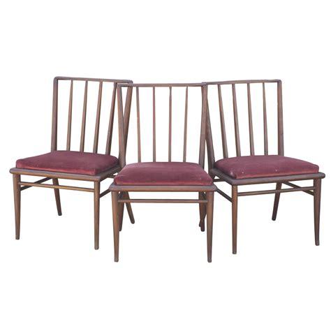 4 mid century modern dining chairs