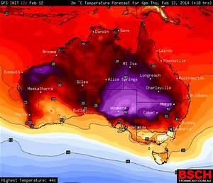 Rain and Heat Australia 13th February 2014 - Extreme Storms