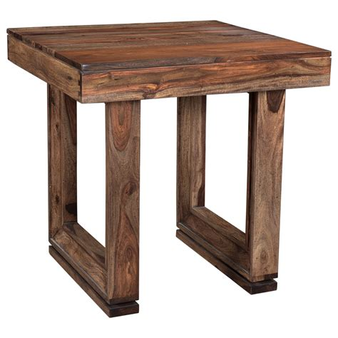 coast  coast imports brownstone  table  beveled