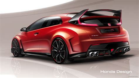 Civic Type R Hd Picture by Honda Civic Type R 2018 Hd Wallpapers Free