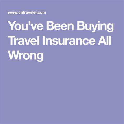 Last year i invested in an annual travel insurance plan with allianz and there were a few reasons why this made sense for my family and why it may also make sense for yours. You've Been Buying Travel Insurance All Wrong   Travel insurance, April travel, Travel