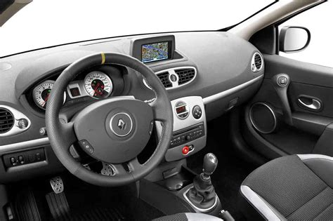 siege rs3 renault clio iii 2009 interieur