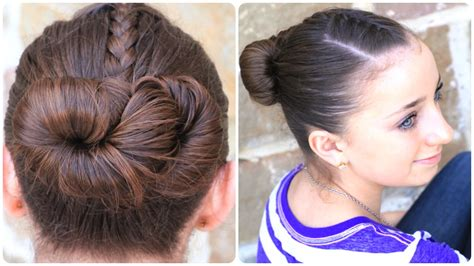 how to create an infinity bun updo hairstyles cute