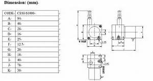 Calt 1000mm Linear Draw Wire Sensor Potentiometer 4
