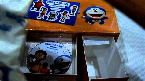 DVD Stand by Me Doraemon Nobita's Desk Unboxing with