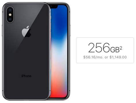 iphone x 256gb half of prospective iphone x buyers surveyed plan to choose 256gb storage macrumors