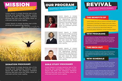 Church Brochures Templates by 30 Sle Church Brochure Templates Free Psd Pdf Design