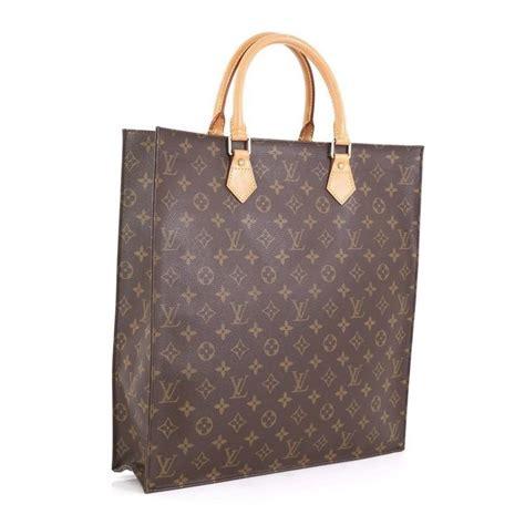 louis vuitton sac plat handbag monogram canvas gm  stdibs