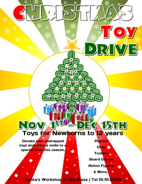 Toy Drive Flyer Template Word by Flyer Design With Microsoft Word 2013 Beginner Tutorial