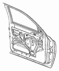 Mitsubishi Raider Door Shell  Left  Front   Door  Panel