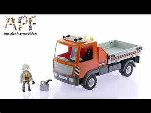 Video De Camion De Chantier : playmobil city action 6861 pas cher camion de chantier ~ Medecine-chirurgie-esthetiques.com Avis de Voitures
