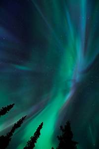 1k alaska sky landscape night northern lights night sky ...