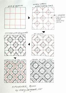 2253 Best Images About Zentangle Instructions   Steps   How