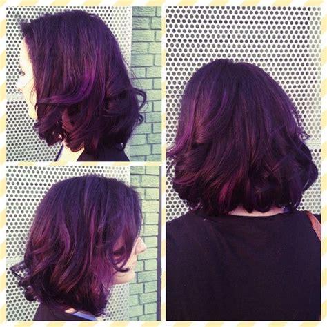 ideas  eggplant hair colors  pinterest eggplant hair plum hair dye  plum