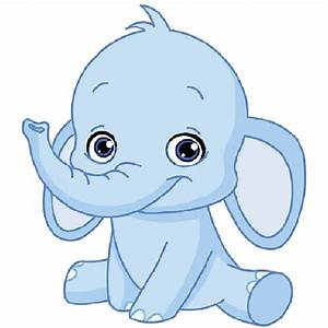 Baby Elephant Clipart - The Cliparts