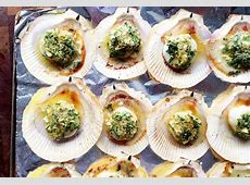 Oven baked scallops on the shell – memories of Cinque