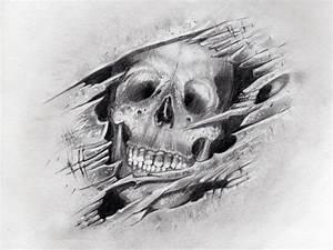 Gothic Skull Drawings | wings cross tattoo drawing cross ...