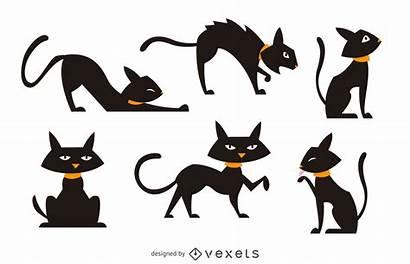 Cat Illustration Isolated Vexels Vector Vectors Ai