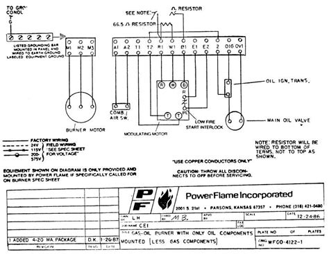 Beckett Cad Cell Burner Control Wiring Diagrams
